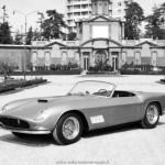 1960 - Ferrari 250 GT Spider California passo lungo (Giardini ducali)