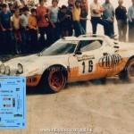 1982 - Rally di Piancavallo, Lugli-Santini (solo decals)