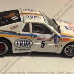 1986, Rally appennino Reggiano, Borghi-Borghi