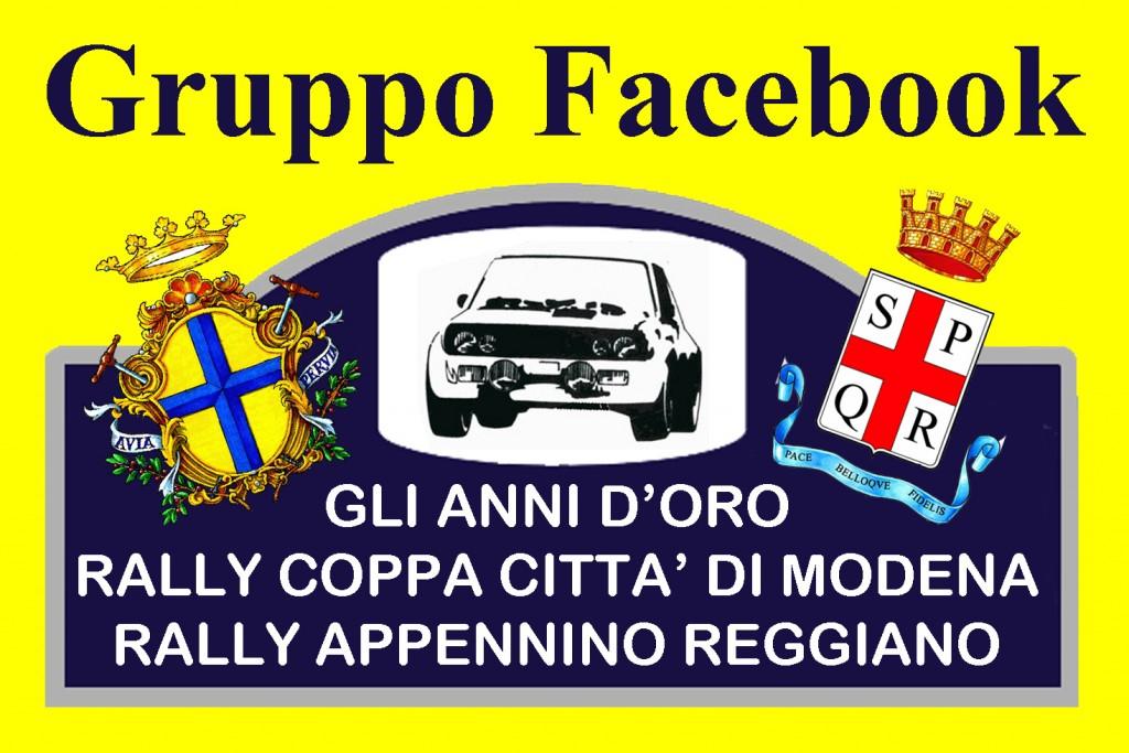 Adesivo gruppo FB