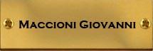 Maccioni Giovanni