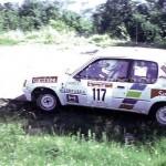1992 - Rally Appennino Modenese, Brighenti-Comastri