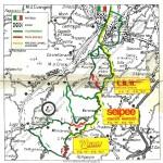 1992 - Rally Appennino Modenese, il percorso di gara