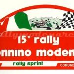 Rally Appennino Modenese 1994, l'adesivo