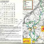 Rally Appennino Modenese 1994, Tabella tempi e distanze e cartina del percorso