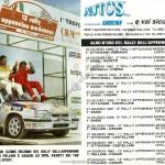 Rally Appennino Modenese 1994, albo d'oro