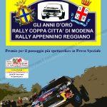 Rally Città di Modena 2014, Locandina del Trofeo